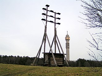 Abraham Niclas Edelcrantz - Replica of Edelcrantz' optical telegraph, in Stockholm.