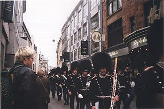 Royal Life Guards (Denmark) - The Life Guards Band in 1998.