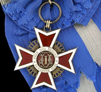 Order of the Crown (Romania) - Image: Ordinul Coroana României Mare Cruce 1932 (avers)