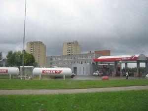 ORLEN Lietuva - ORLEN Lietuva petrol station.