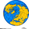 Orthographic projection centered over Kongsfjord, Svalbard.png