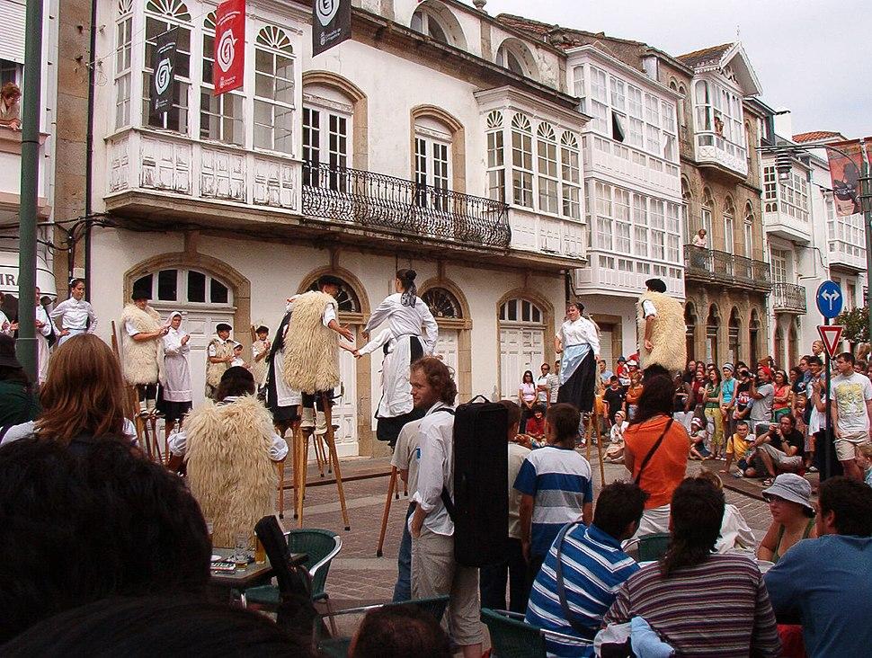 Ortigueira.Festival celta.Xigantes