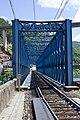 Os Peares - Ponte do ferrocarril - Puente del ferrocarril - Railway bridge - 01.jpg