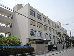 Osaka City Imaichi junior high school.JPG