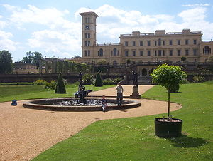 Isle of Wight - Osborne House and its grounds are now open to the public.
