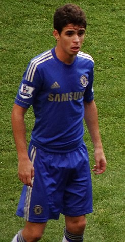 Oscar with Chelsea (cropped).jpg