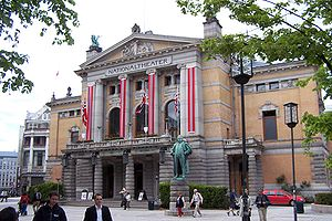 National Theatre in Oslo, Norway.