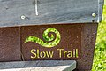 Ossiach Alt-Ossiach Bleistätter Moor Slow Trail-Schild 23052019 6990.jpg