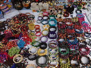 Otavalo (city) - Tawa Jewelry and other handcrafts at the Otavalo Artisan Market