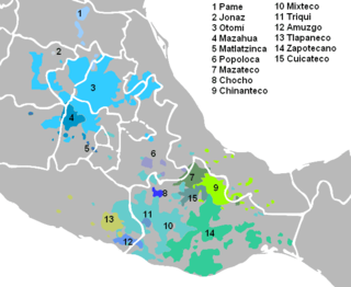 Mazatecan languages Group of Oto-Manguean languages of southern Mexico