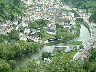 Our (river) - The Our near Vianden