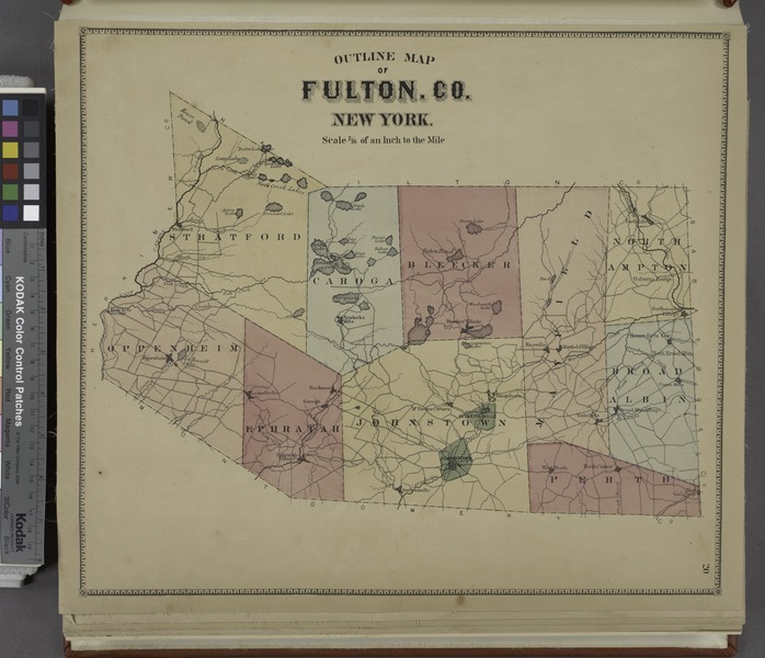 File:Outline Map of Fulton Co. New York. NYPL1584227.tiff