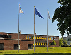 Oxelösund Municipality - Oxelösund City Hall in June 2013