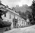 Püspöki Palota, fent a Vár. Fortepan 1899.jpg