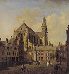 De Veemarkt met de Sint Pauluskerk te Antwerpen