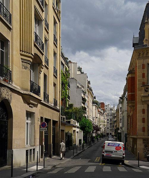 Fichier:P1100059 Paris XVI rue des Marronniers rwk.jpg