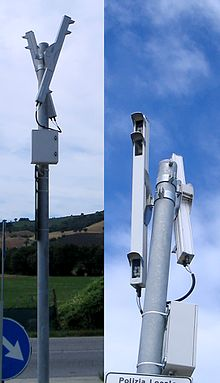 Sistema PASVC in configurazione doppia per il controllo di entrambi i sensi di marcia.