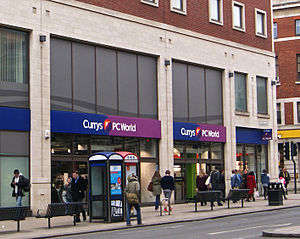 "Dixons Retail - Dual branded ""Currys PC World"" store in Leeds"