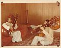 PD Shah teaching Rudra Veena in California, USA.jpg