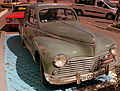 PEUGEOT 203 (1950 TYPE) RALLY CAR AT TANGER BEACH FRONT MOROCCO APRIL 2013 (8695870423).jpg