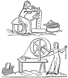 PSM V39 D200 Ladies carding and spinning wool.jpg