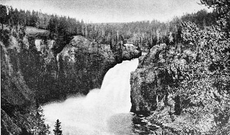 PSM V47 D189 Upper falls of the yellowstone river.jpg