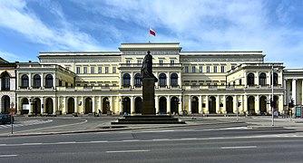 Pa%C5%82ac Ministra Skarbu w Warszawie 2018