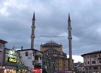 Sivas - Paşa-Mosque at Atatürk-boulevard