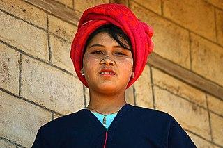 PaO people ethnic group in Myanmar