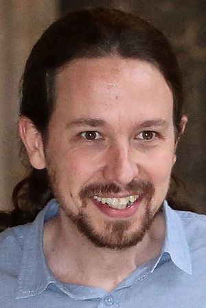 2nd Podemos Citizen Assembly - Image: Pablo Iglesias 2016 (cropped)