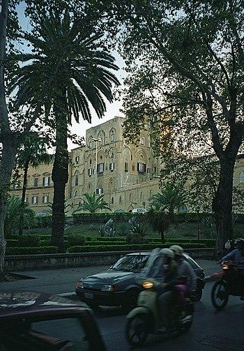 Palazzo dei Normanni a Palermo Sicily