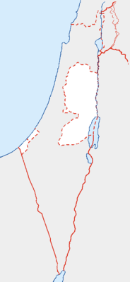 Location map Palestine