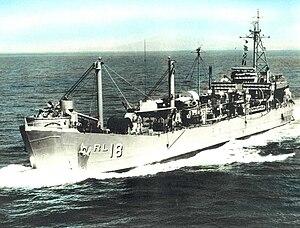 Achelous-class repair ship - Image: Pandemus ARL 18