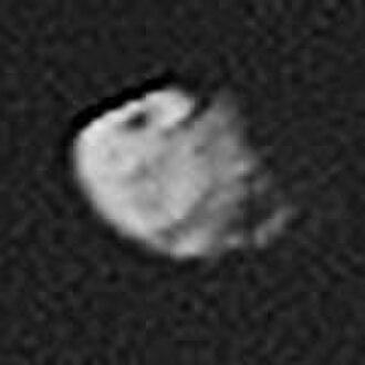 Pandora (moon) - Image: Pandora Voyager 2