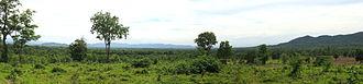Mae Tha District, Lampang - Image: Panorama Mae Tha valley Lampang Province
