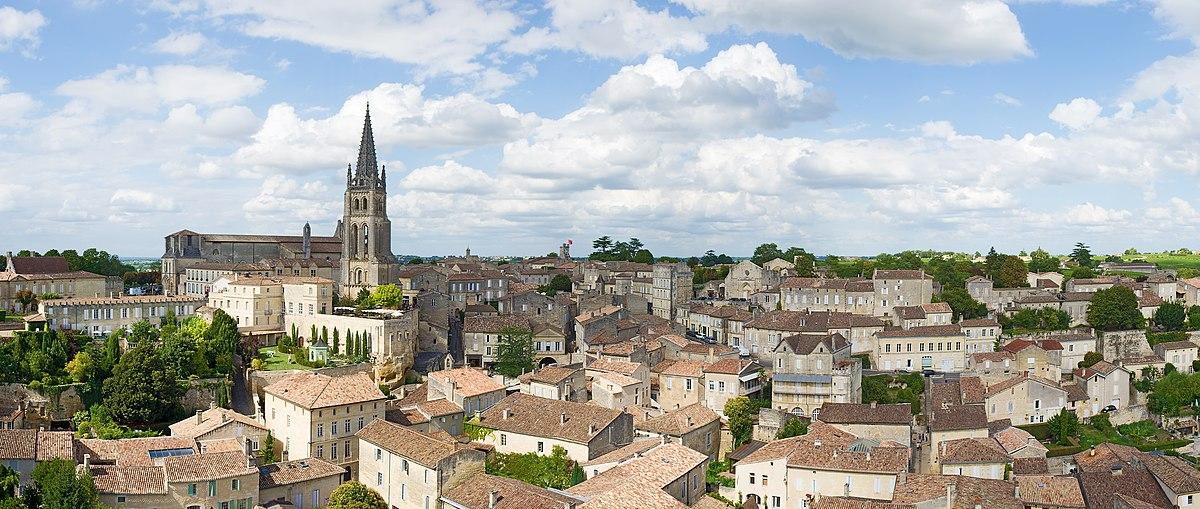 Panorama de Saint Emilion De la tour du roi