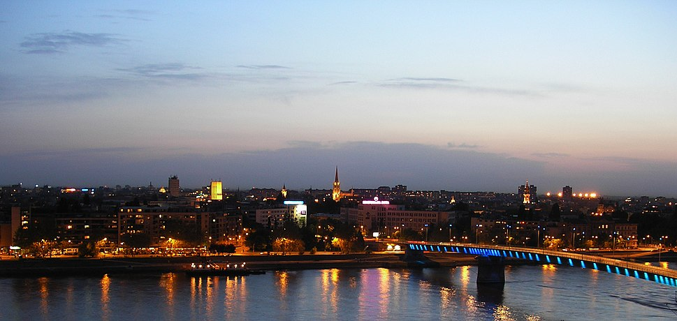 Panorama of Novi Sad