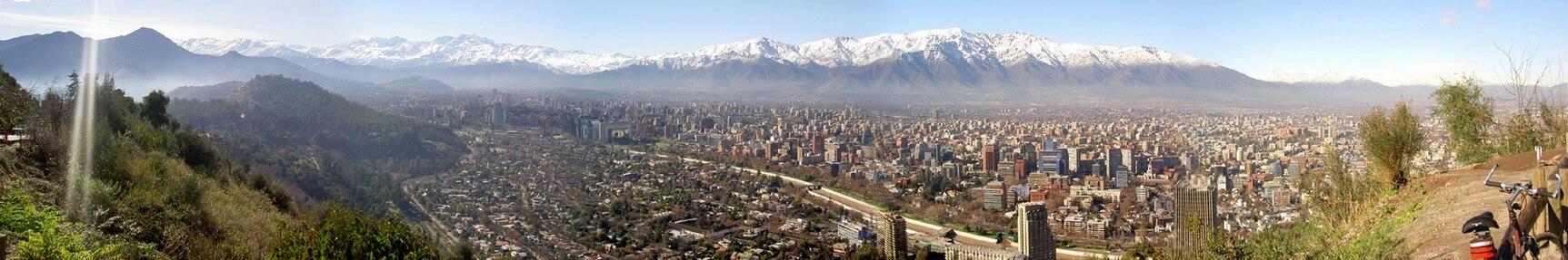 Panorama de Santiago de Chile