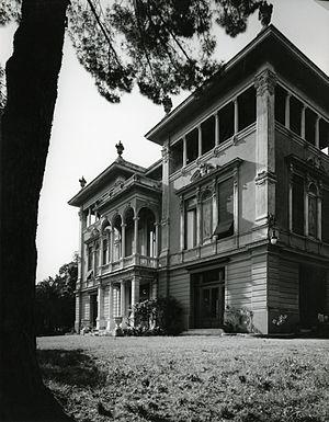 Quarto dei Mille - Villa Doria Spinola Quartara. Photo by Paolo Monti, 1963.