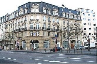 Gare, Luxembourg - Image: Paräi Pla