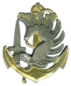 2nd Marine Infantry Parachute Regiment - Image: Parachutistes coloniaux béret