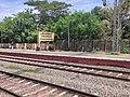 Parappanangadi Railway Station name board.jpg