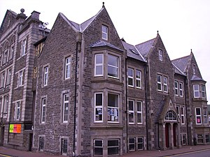 Treorchy -  The Parc and Dare Hall