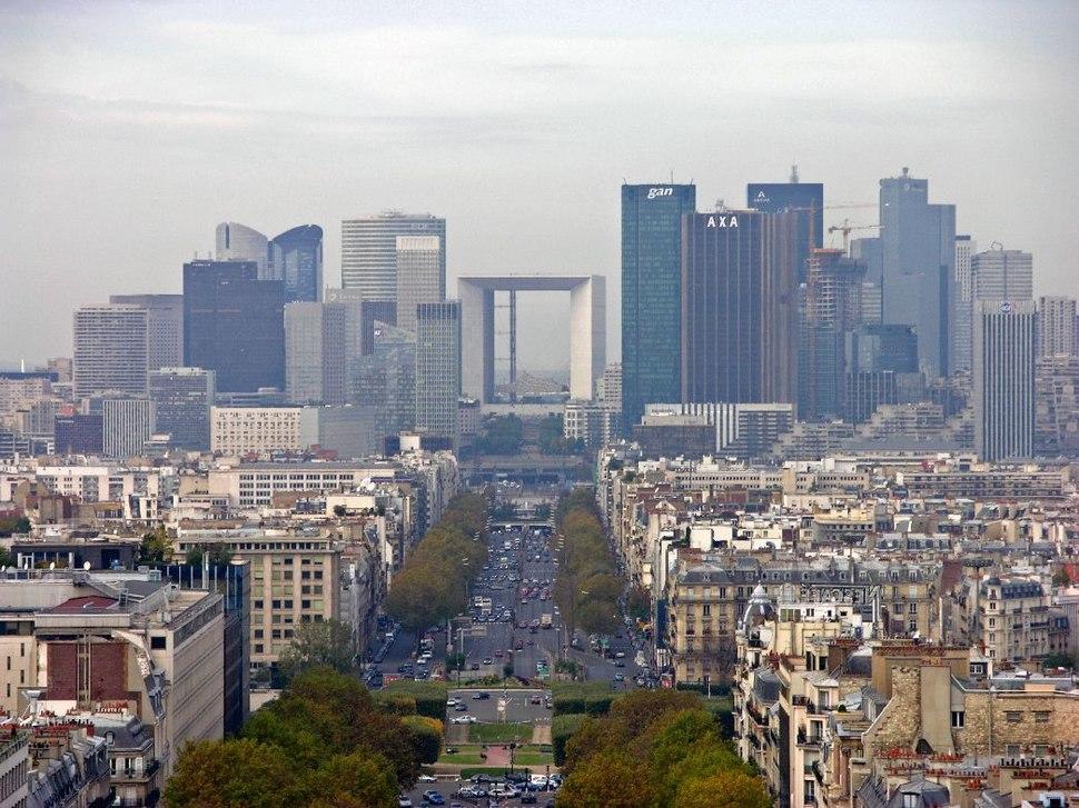Paris - Blick vom großen Triumphbogen