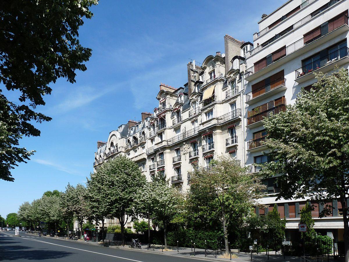 Boulevard suchet wikip dia - 30 avenue de la porte de clignancourt ...
