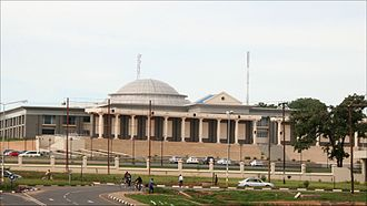 Lilongwe - Image: Parliament Building of Malawi