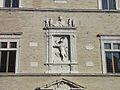 Particolare della facciata del palazzo della signoria di jesi.JPG