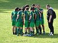 Partido Pontevedra FG- Irmandinhos A Estrada Torneo Ibérico de Fútbol Gaélico 2015 A Coruña 01.JPG