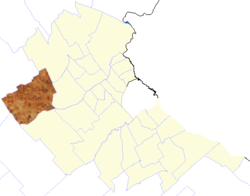 location of General Rodriguez Partido in Gran Buenos Aires