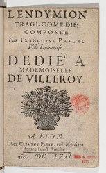Françoise Pascal: L'Endymion